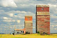 Grain elevator<br /> Neidpath<br /> Saskatchewan<br /> Canada