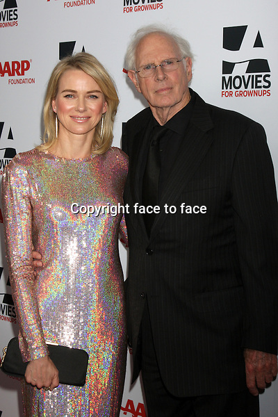 BEVERLY HILLS, CA - February 10: Naomi Watts, Bruce Dern at the AARP &quot;Movies for Grownups&quot; Awards, Beverly Wilshire Hotel, Beverly Hills, February 10, 2014. <br /> Credit: MediaPunch/face to face<br /> - Germany, Austria, Switzerland, Eastern Europe, Australia, UK, USA, Taiwan, Singapore, China, Malaysia, Thailand, Sweden, Estonia, Latvia and Lithuania rights only -