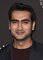 "HOLLYWOOD, CA - MARCH 18:  Kumail Nanjiani at PaleyFest 2018 - ""Silicon Valley"" at the Dolby Theatre on March 18, 2018 in Hollywood, California. (Photo by Scott KirklandPictureGroup)"