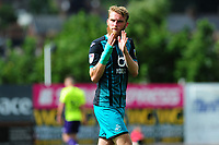 Oli McBurnie of Swansea City during the pre season friendly match between Exeter City and Swansea City at St James Park in Exeter, England, UK. Saturday, 20 July 2019