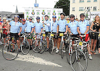 06-07-2013:  The 2013 Ring of Kerry Charity Cycle, in association with Radio Kerry supported by Liam Lynch Motors, the main SKODA dealer in Kerry.   Picture: Eamonn Keogh (MacMonagle, Killarney)