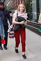 NEW YORK, NY - MAY 9: Taissa Farmiga  at BUILD SERIES on May 9, 2019 in New York City. <br /> CAP/MPI99<br /> &copy;MPI99/Capital Pictures