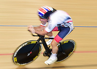 Picture by Alex Broadway/SWpix.com - 05/03/2016 - Cycling - 2016 UCI Track Cycling World Championships, Day 4 - Lee Valley VeloPark, London, England - Mark Cavendish of Great Britain competes in the Men's Omnium 1km Time Trial.