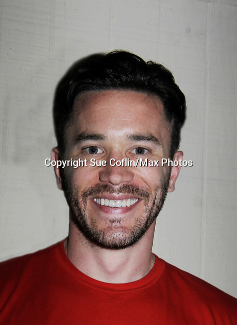 Tom Pelphrey - Guiding Light played pool at 15th Southwest Florida Soapfest 2014 Charity Weekend with a Bartending/Karaoke get together on May 26, 2104 at Porky's, Marco Island, Florida. (Photo by Sue Coflin/Max Photos)
