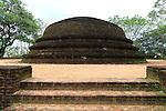 UNESCO World Heritage Site, the ancient city of Polonnaruwa, Sri Lanka, Asia, Alahana Pirivena complex,