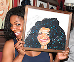 Audra McDonald.attending the celebration for Norm Lewis receiving a Caricature on Sardi's Hall of Fame in New York City on 5/30/2012