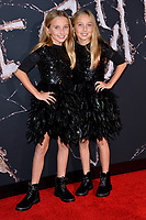 """LOS ANGELES, USA. October 30, 2019: Kk Heim & Sadie Heim at the US premiere of """"Doctor Sleep"""" at the Regency Village Theatre.<br /> Picture: Paul Smith/Featureflash"""