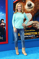 "6 January 2018 - Los Angeles, California - Angela Kinsey. ""Paddington 2"" L.A. Premiere held at the Regency Village Theatre. Photo Credit: AdMedia"