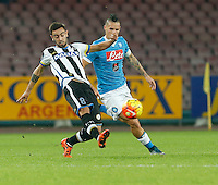 Bruno Fernandez  during the  italian serie a soccer match,between SSC Napoli and Udinese      at  the San  Paolo   stadium in Naples  Italy , November 08, 2015