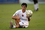 30 June 2004: Jordy Broder before the game. The Atlanta Silverbacks of the A-League defeated the Carolina Dynamo of the Premier Development League 3-2 in sudden death overtime at McPherson Stadium in Brown's Summit, NC during a third round Lamar Hunt U.S. Open Cup match..