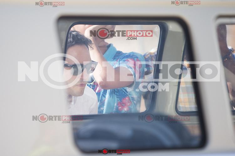 "Spanish actor David Guapo during the filming of the movie "" Senor, dame paciencia"" directed by Alvaro Diaz. September 06, 2016. (ALTERPHOTOS/Rodrigo Jimenez) NORTEPHOTO.COM"