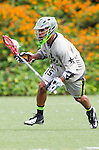 Costa Mesa, CA 06/08/13 - Lantz Carter (Team Maverik #15) in action during the inaugural game of the LXMPRO Tour in Orange County.  The Team STX defeated Team Maverik 14-13 at Orange Coast College's Bard Stadium.