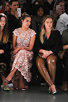 Amber Le Bon and Iskra Lawrence<br /> at the Bora Aksu SS18 Show as part of London Fashion Week, London<br /> <br /> <br /> &copy;Ash Knotek  D3308  15/09/2017