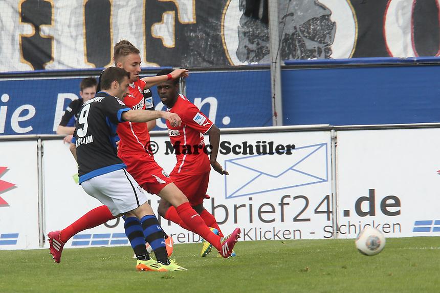 Edmond Kapllani (FSV) zieht ab - FSV Frankfurt vs. SV Sandhausen, Frankfurter Volksbank Stadion