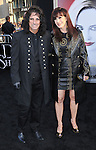 Alice Cooper and wife Cheryl Cooper at the Los Angeles premiere of Dark Shadows held at Grauman's Chinese Hollywood, California. May 7,  2012
