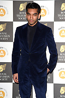 LONDON, UK. March 19, 2019: Nabhaan Rizwan arriving for the Royal Television Society Awards 2019 at the Grosvenor House Hotel, London.<br /> Picture: Steve Vas/Featureflash