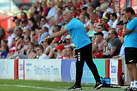 Ebbsfleet United manager Garry Hill during Ebbsfleet United vs Notts County, Vanarama National League Football at The Kuflink Stadium on 24th August 2019