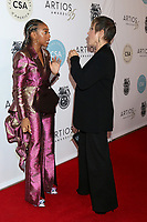 LOS ANGELES - JAN 30:  Eris Baker, Gabrielle Carteris at the 35th Artios Awards at the Beverly Hilton Hotel on January 30, 2020 in Beverly Hills, CA