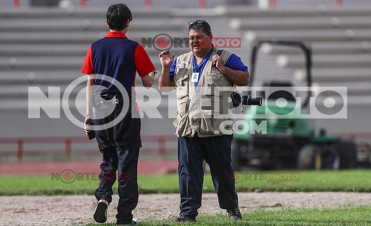 Heriberto Verduzco y Teodoro Borbon.<br /> Entrenamiento de Cimarronesfc ascensomx2017 clausura2017 <br /> <br /> &copy;Foto: LuisGutierrrez/NortePhoto.com