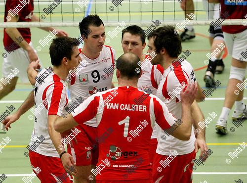 2010-02-06 / Volleybal / seizoen 2009-2010 / Puurs - Preucura Antwerpen / Vlado Milev (9)..Foto: mpics