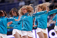Real Madrid's cheerleaders during Euroleague 2012/2013 match.December 13,2012. (ALTERPHOTOS/Acero) /NortePhoto