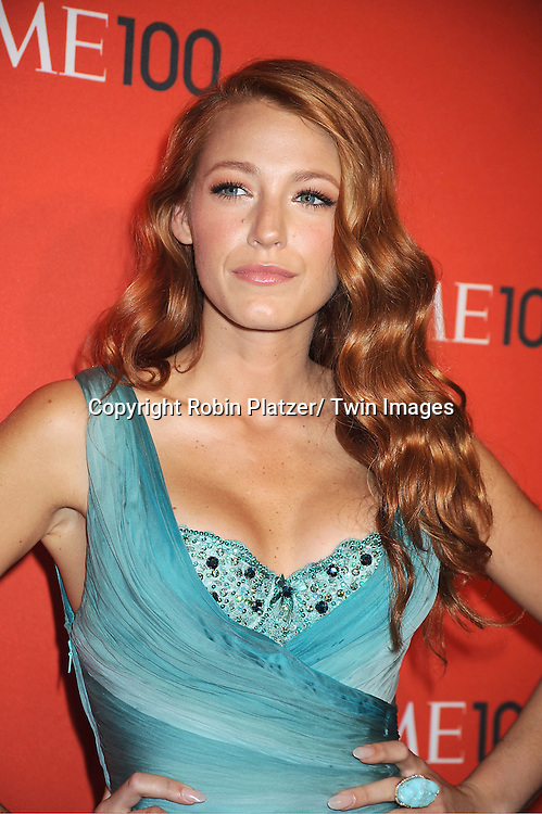 Blake Lively attending The Time 100 Most Influential People in the World Gala on April 26, 2011 at Frederick P Rose Hall in The Time Warner Center in New York City.