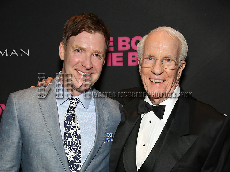 Brian Hutchison and Peter White attends the 'The Boys In The Band' 50th Anniversary Celebration at The Second Floor NYC on May 30, 2018 in New York City.
