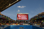 General view,<br /> JUNE 26, 2014 - Football / Soccer :<br /> The screen shows names of player escorts before the FIFA World Cup Brazil 2014 Group H match between South Korea 0-1 Belgium at Arena de Sao Paulo in Sao Paulo, Brazil. (Photo by SONG Seak-In/AFLO)