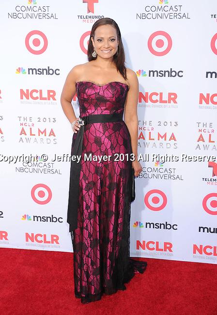 PASADENA, CA- SEPTEMBER 27: Actress Judy Reyes arrives at the 2013 NCLA ALMA Awards at Pasadena Civic Auditorium on September 27, 2013 in Pasadena, California.