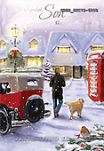 John, CHRISTMAS LANDSCAPE, paintings+++++,GBHSSXC75-685B,#XL#