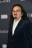 """LOS ANGELES, USA. June 06, 2019: George DiCaprio at the premiere for """"Ice on Fire"""" at the LA County Museum of Art.<br /> Picture: Paul Smith/Featureflash"""