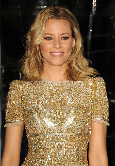 WWW.ACEPIXS.COM . . . . .  ....January 23 2012, LA....Elizabeth Banks arriving at the premiere of  'Man On A Ledge' at Grauman's Chinese Theatre on January 23, 2012 in Hollywood, California.....Please byline: PETER WEST - ACE PICTURES.... *** ***..Ace Pictures, Inc:  ..Philip Vaughan (212) 243-8787 or (646) 679 0430..e-mail: info@acepixs.com..web: http://www.acepixs.com