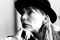 FILE PHOTO  - Joni Mitchell<br /> , March 24, 1988<br /> <br /> <br /> Photo by Denis Alix - Agence Quebec Presse<br /> <br /> <br /> Photo by Denis Alix - Agence Quebec Presse