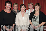 Pictured at the annual Kilcolman Womens Group fundraising dinner in Kate Kearneys, Beaufort on Monday night were Liz Nolan, Tralee, Betty Hand, Dingle, Trish McEnery, Killarney, Ann Scanlan, Dingle and Liz O'Connor, Dingle.