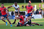 NELSON, NEW ZEALAND - SEPTEMBER 15: Tasman Mako v North Harbour game on September 15 at Trafalgar Park 2019 in Nelson, New Zealand. (Photo by: Shuttersport Limited)