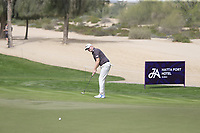 Richard McEvoy (ENG) on the 3rd during Round 1 of the Omega Dubai Desert Classic, Emirates Golf Club, Dubai,  United Arab Emirates. 24/01/2019<br /> Picture: Golffile | Thos Caffrey<br /> <br /> <br /> All photo usage must carry mandatory copyright credit (&copy; Golffile | Thos Caffrey)