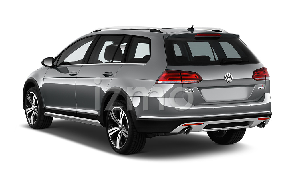 Car pictures of rear three quarter view of 2017 Volkswagen Golf Alltrack Base 5 Door Wagon angular rear
