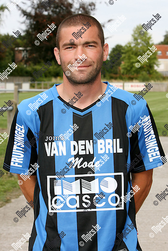 2009-07-29 / Seizoen 2009-2010 / Voetbal / Rupel Boom / Jerry Poorters..Foto: Maarten Straetemans (SMB)