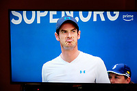 Andy Murray, professional tennis player, competing, US Open, USA, 29th August 2018, 201808294519<br />
