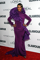 BROOKLYN, NY - NOVEMBER 13: Iman  at Glamour's 2017 Women Of The Year Awards at the Kings Theater in Brooklyn, New York City on November 13, 2017. Credit: John Palmer/MediaPunch