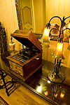 Antique Edison cylinder music box