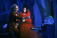 Beetlejuice (1988)<br /> Winona Ryder and Michael Keaton <br /> *Filmstill - Editorial Use Only*<br /> CAP/MFS<br /> Image supplied by Capital Pictures