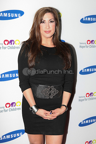 Jacqueline Laurita of The Real Housewives of New Jersey at the Samsung Hope for Children 11th Annual Gala at the Museum of Natural History in New York City. June 4, 2012. © Diego Corredor/MediaPunch Inc.