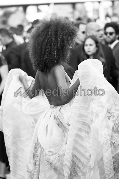 """24 May 2017 - Cannes, France - Tina Kunakey . """"The Beguiled"""" Premiere during the 70th Cannes Film Festival. Photo Credit: GeorgWenzel/face to face/AdMedia"""