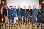 Attending the Men's Shed Dance at The Ring of Kerry Hotel on Sunday night last were l-r; Paddy O'Shea, Debora O'Connor, John O'Connor, Dan O'Connor, Tommy O'Connell, Tim Corcoran, Mary Shanahan, Joe.C.Keating & John Shanahan.