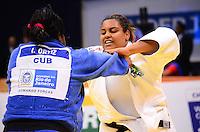 RIO DE JANEIRO, RJ,31 DE AGOSTO DE 2013 -CAMPEONATO MUNDIAL DE JUDÔ RIO 2013- A brasileira Maria Suelen Maria Suelen Altheman (de branco) foi derrotada pela cubana Idalys Ortiz e conquistou a medalha de prata na categoria +78kg no Mundial de Judô Rio 2013, no Maracanazinho de 26 de agosto a 01 de setembro, zona norte do Rio de Janeiro.FOTO:MARCELO FONSECA/BRAZIL PHOTO PRESS (de branco) derrotou Aiqui Baikuleva na categoria +100 kg no Mundial de Judô Rio 2013, no Maracanazinho de 26 de agosto a 01 de setembro, zona norte do Rio de Janeiro.FOTO:MARCELO FONSECA/BRAZIL PHOTO PRESS