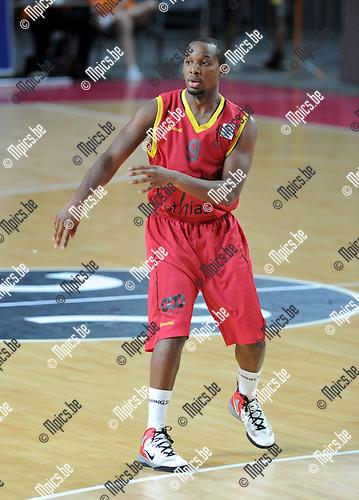 2012-08-27 / Basketbal / seizoen 2012-2013 / Belgian Lions / Beye Tabu-Eboma..Foto: Mpics.be