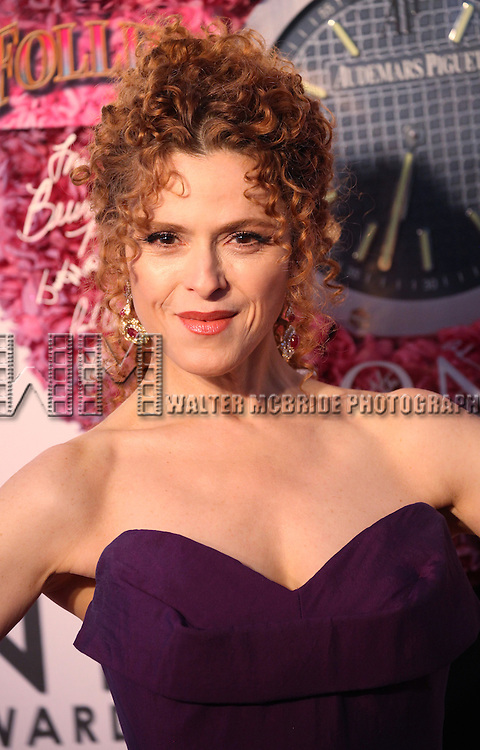 Bernadette Peters pictured at the 66th Annual Tony Awards held at The Beacon Theatre in New York City , New York on June 10, 2012. © Walter McBride / WM Photography