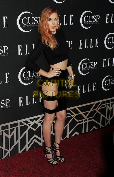 HOLLYWOOD, CA- APRIL 22: Actress Rumer Willis arrives at ELLE's 5th Annual Women In Music concert celebration at Avalon on April 22, 2014 in Hollywood, California.<br /> CAP/ROT/TM<br /> &copy;Tony Michaels/Roth Stock/Capital Pictures