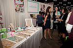 Jessica Herrin at Stella & Dot booth at the Eleventh Annual Texas Conference for Women